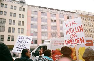 Wir wollen Wohnen - Aktionsbündnis am 1. März 2016
